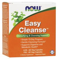 NOW Foods - Easy Cleanse, 60+60 vkaps