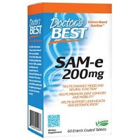 Doctor's Best - SAM-e, 200mg, 60 tabletek
