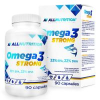 Allnutrition - Omega 3, Strong, 90 kapsułek