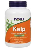 NOW Foods - Kelp, 150mcg, 200 tabletek